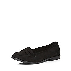 Dorothy Perkins - Black 'lily' tab loafers