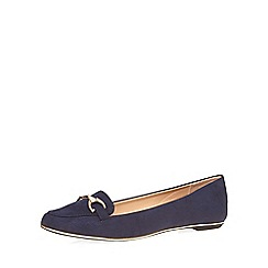 Dorothy Perkins - Navy 'lofty' loafers