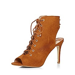 Dorothy Perkins - Tan silvia ghillie sandals