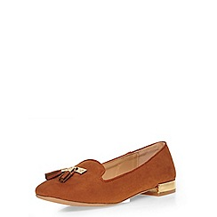 Dorothy Perkins - Tan harly slipper pumps