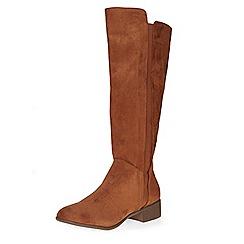 Dorothy Perkins - Chestnut kiki rider boots