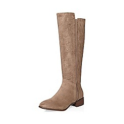 Dorothy Perkins - Taupe kiki rider boots
