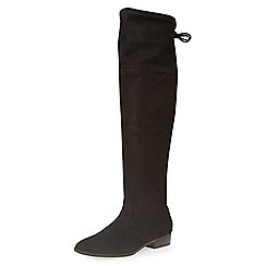 Dorothy Perkins - Black tara over the knee boots
