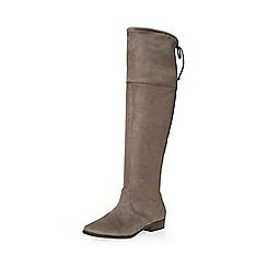 Dorothy Perkins - Grey tara over the knee boots
