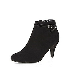 Dorothy Perkins - Black alby buckle boots