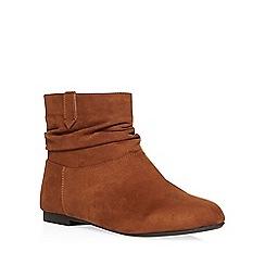 Dorothy Perkins - Tan 'megan' slouch boots