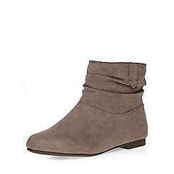Dorothy Perkins - Grey 'megan' slouch boots
