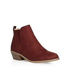 Dorothy Perkins - Rust 'millie' prarie boots