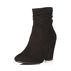 Dorothy Perkins - Black 'amelie' ruched boots