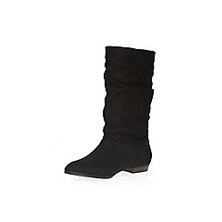 Dorothy Perkins - Black tess slouch boots