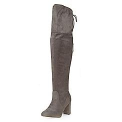 Dorothy Perkins - Grey kassandra boots
