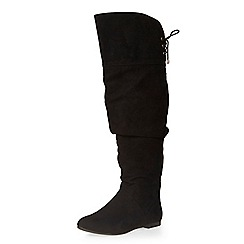 Dorothy Perkins - Black tania slouch boots
