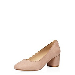 Dorothy Perkins - Blush 'destiny 'scalloped court shoes