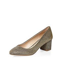 Dorothy Perkins - Bronze 'daze' ballerina court shoes