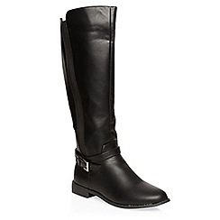 Dorothy Perkins - Black tahiti gusset boots