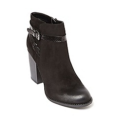 Dorothy Perkins - Black adda buckle strap boots