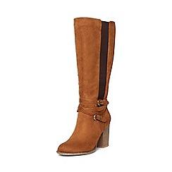 Dorothy Perkins - Tan kyla knee high boots
