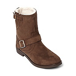 Dorothy Perkins - Tan maddy furlined boots