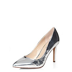 Dorothy Perkins - Silver emilu pointed courts