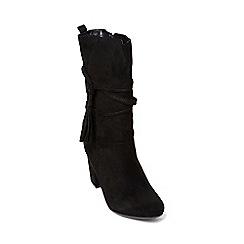Dorothy Perkins - Black 'kendra' calf boots