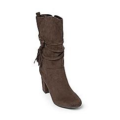 Dorothy Perkins - Grey 'kendra' calf boots