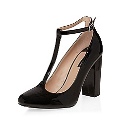 Dorothy Perkins - Black britney t-bar courts