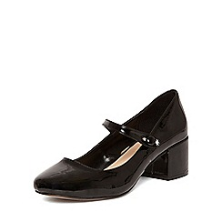Dorothy Perkins - Black 'ella' low mary jane courts