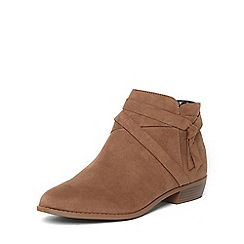 Dorothy Perkins - Mink maitai wrap boots
