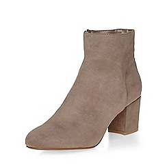 Dorothy Perkins - Mink a-lister ankle boots