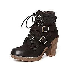 Dorothy Perkins - Black 'aruba' biker boots