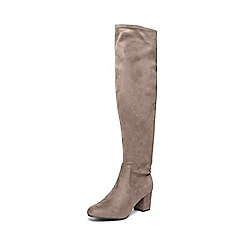 Dorothy Perkins - Grey 'taster' over knee boots