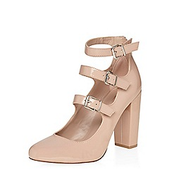 Dorothy Perkins - Blush dandelion buckle courts