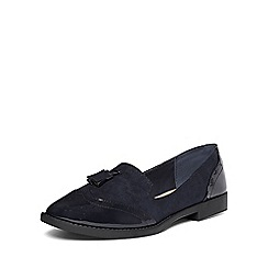 Dorothy Perkins - Navy lilia chunky loafers