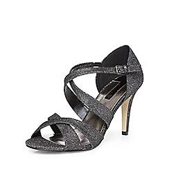 Dorothy Perkins - Pewter niscos'becca'mid sandals