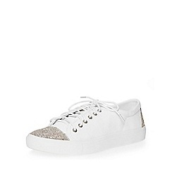 Dorothy Perkins - White charlotte trainers
