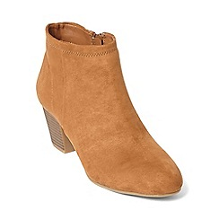 Dorothy Perkins - Tan 'minx' western boots