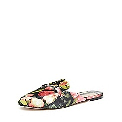 Dorothy Perkins - Floral 'lucky' mule loafers