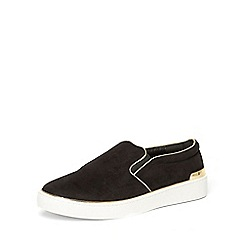 Dorothy Perkins - Black 'clio' slip-on trainers