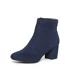 Dorothy Perkins - Navy 'a-lister' boots