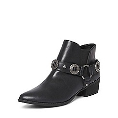 Dorothy Perkins - Black 'avril' western boots
