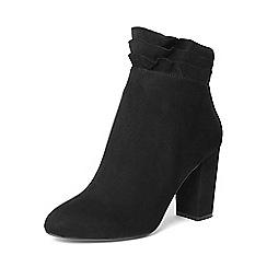 Dorothy Perkins - Black 'aloe' ruffle boots