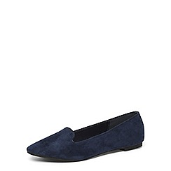 Dorothy Perkins - Navy 'pacca' basic slipper pumps