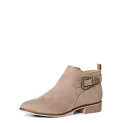 Dorothy Perkins - Taupe mary western ankle boot