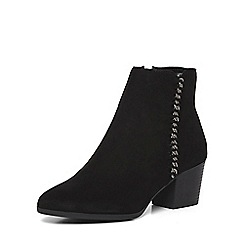 Dorothy Perkins - Black 'macy' chain ankle boots