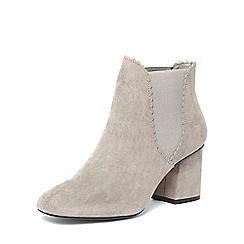 Dorothy Perkins - Grey 'anna' scallop edge boots