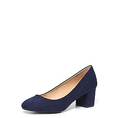 Dorothy Perkins - Navy 'daze' block heel court