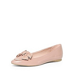Dorothy Perkins - Pink 'hermione' bow point pumps