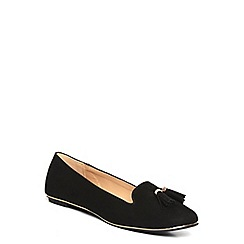 Dorothy Perkins - Black 'heston' tassel slipper
