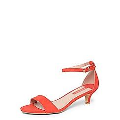 Dorothy Perkins - Coral 'Sundae' sandals