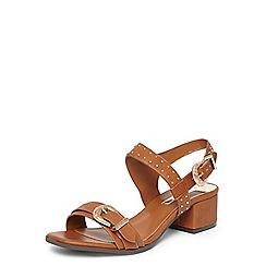 Dorothy Perkins - Tan 'Summers' western sandals